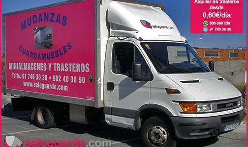 Servicio gratuito de furgonetas
