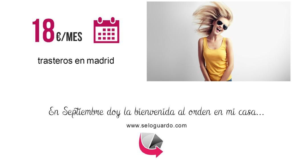Trasteros en Madrid