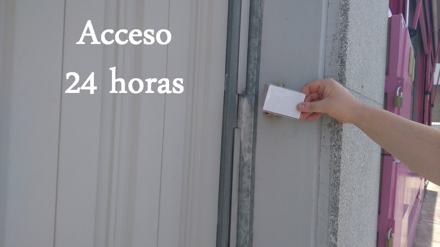 Trasteros con acceso 24 horas