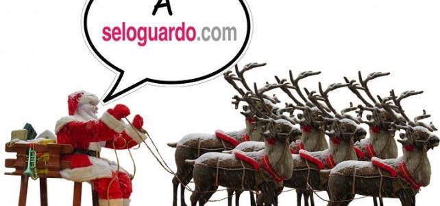 Papa Noel guarda sus regalos en Seloguardo